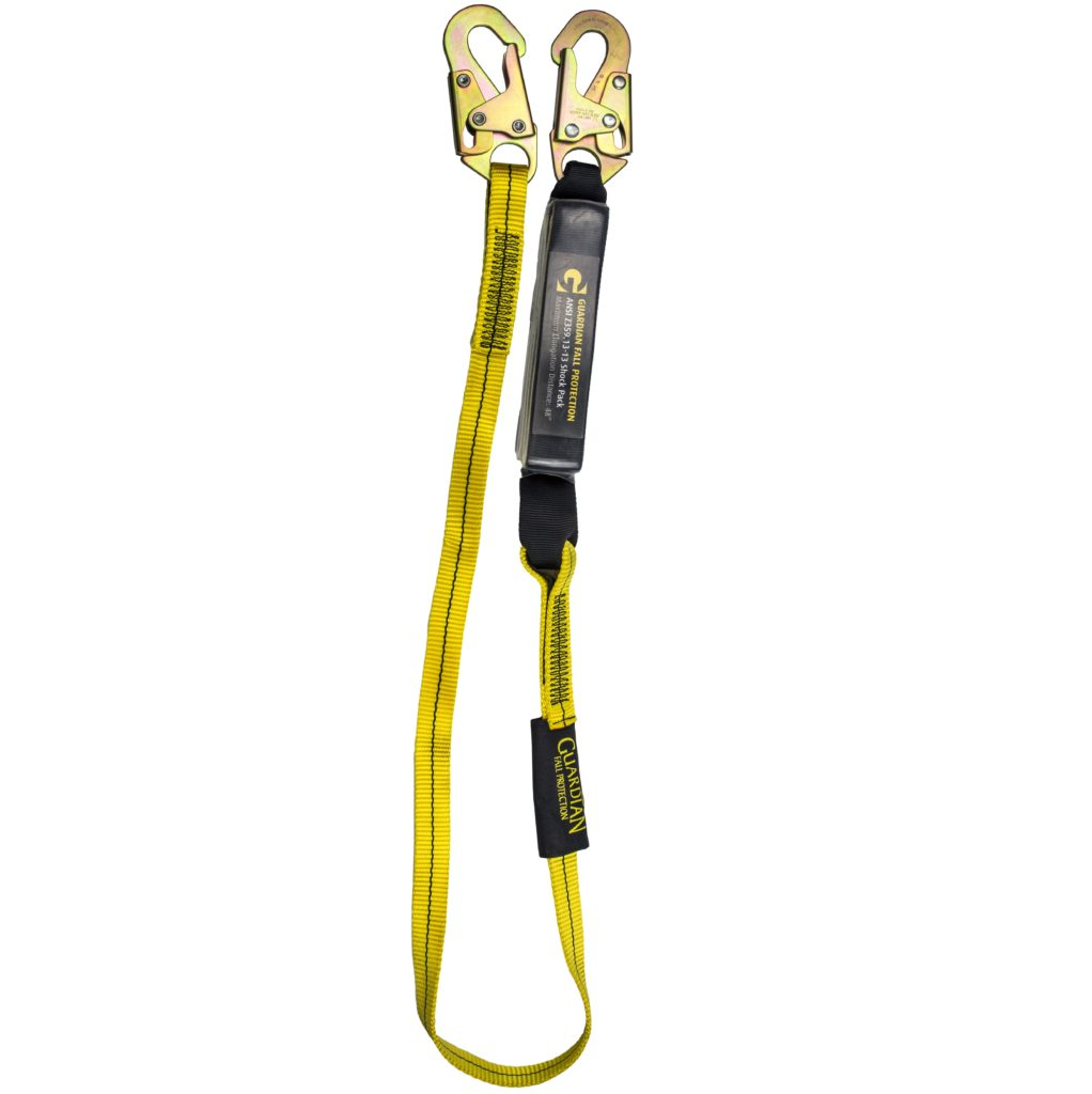 Guardian 3 Ft External Shock Lanyard Commercial Roofing