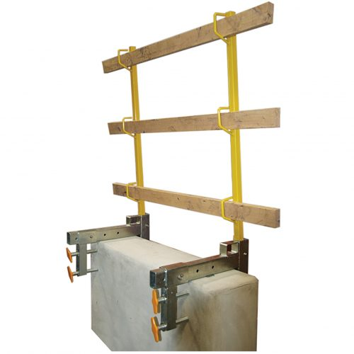 PARAPET ANCHOR FOR GUARDRAILS