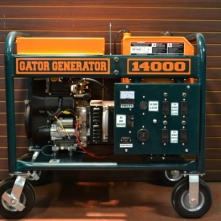 The Gator 14KW Kohler Generator was engineered for roofers by professional equipment service technicians with 30 years of roofing equipment experience.