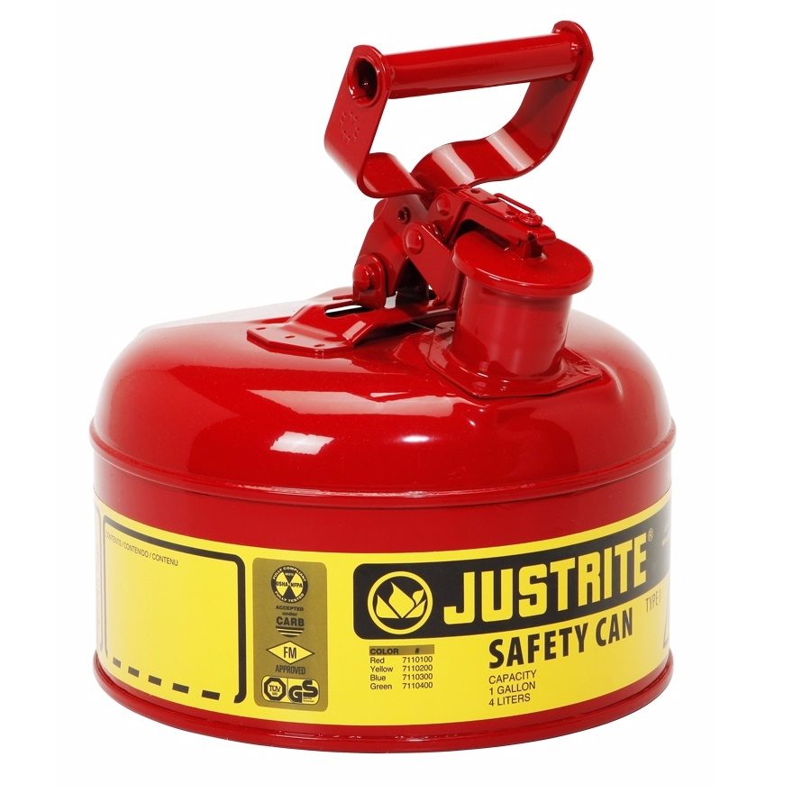 Safety Gas Can >> 1 Gallon Safety Gas Can Type I