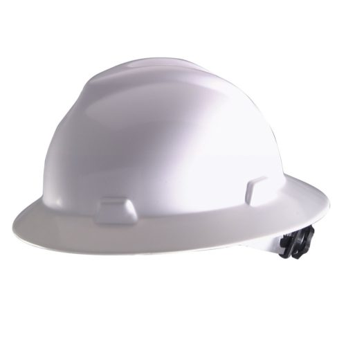 MSA V Guard Hard Hat Full Brimmed