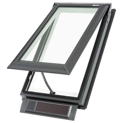 Velux Deck-Mounted VSS Solar Fresh Air Skylight C01 C04 C06