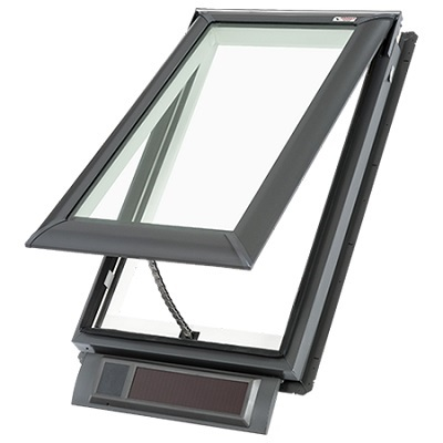 Velux Deck-Mounted VSS Solar Fresh Air Skylight M02 M04 M06 M08